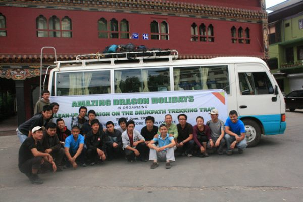 start-of-the-cleaning-campaign-in-bhutan