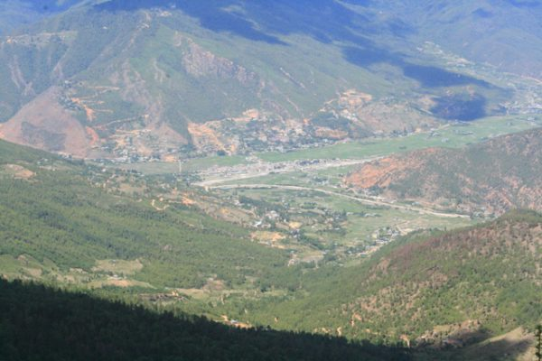 view-of-paro-valley-from-jela-dzong-in-bhutan